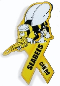 Seabee Car Magnet