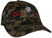 We Build We Fight Camouflage Cap