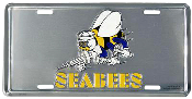 Seabee License Plate